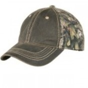 Pigment Dyed Camouflage Cap